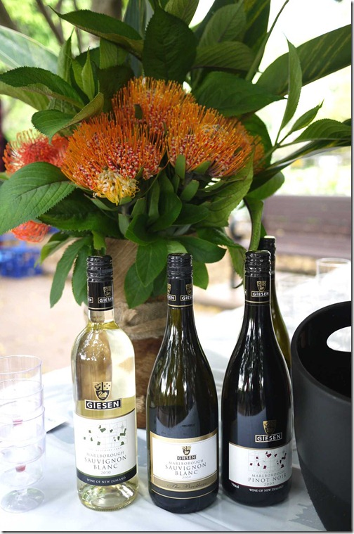 Selection of Giesen Wines from New Zealand