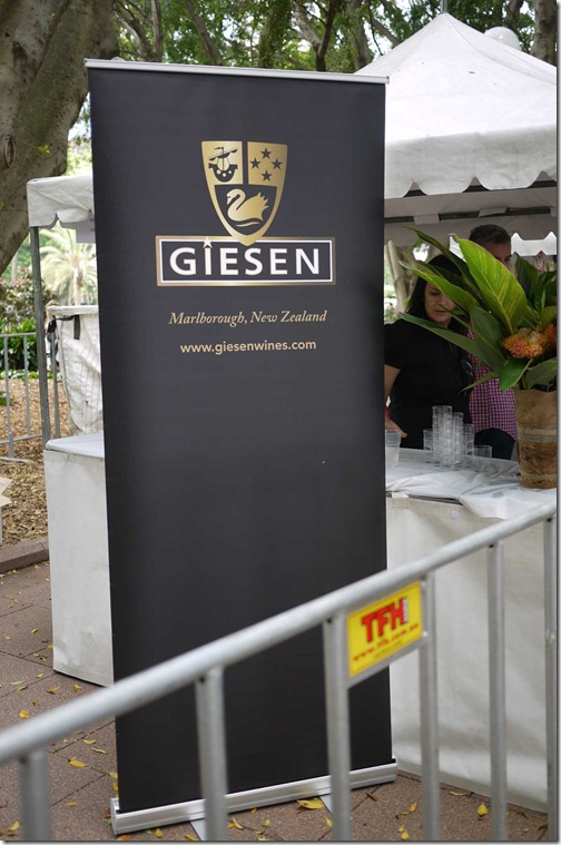 Giesen Wines from the Marlbourough region of New Zealand