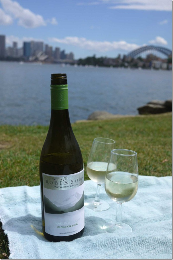 Robinsons Sauvignon Blanc from New Zealand