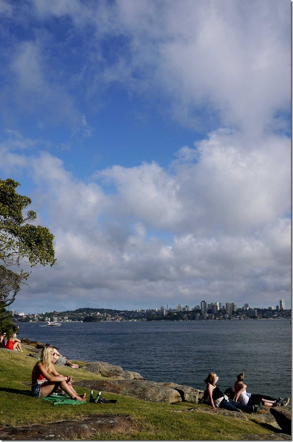 Picnic at Cremorne Point, Sydney