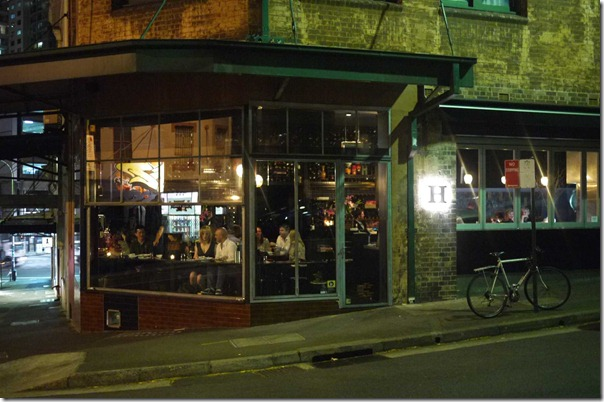 Bar H, 80 Campbell street, Surry Hills