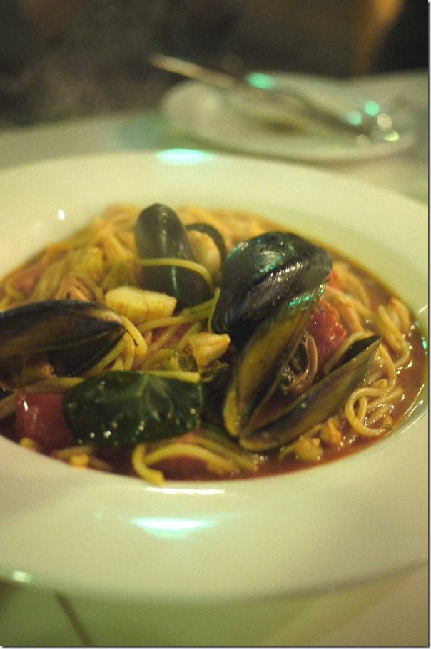 Spaghetti Marinara Al Cartoccio