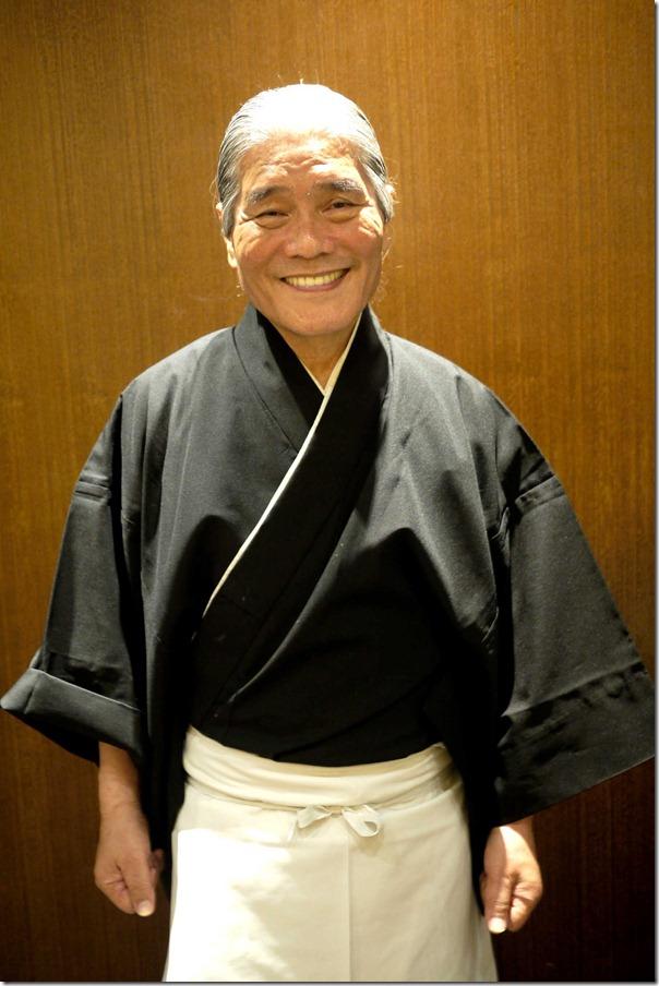 Hideo Dekura, Sydney's sushi master chef