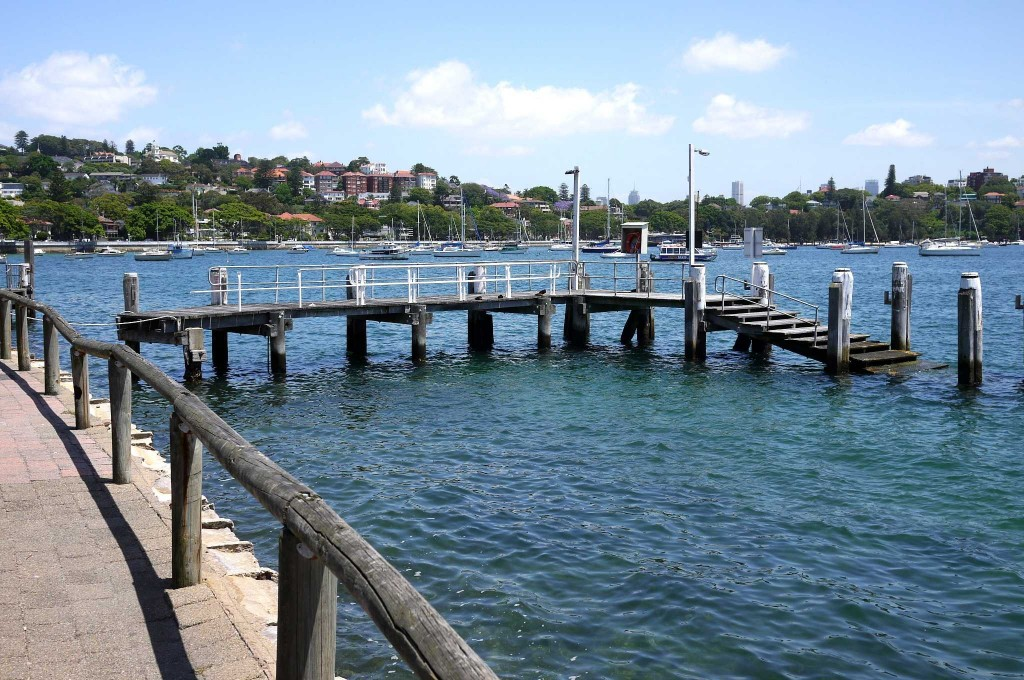 Pier at Rose Bay