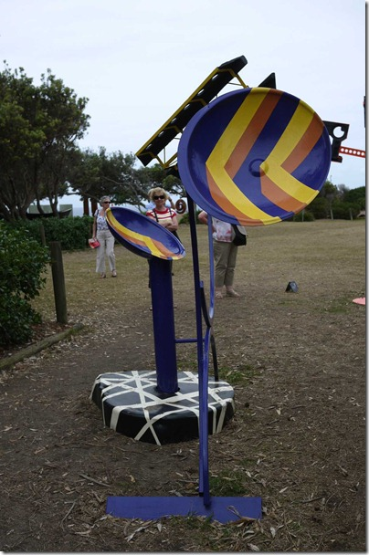 Sculpture by the sea*