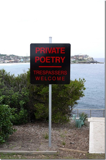 Richard Tipping, NSW, Private poetry 2010