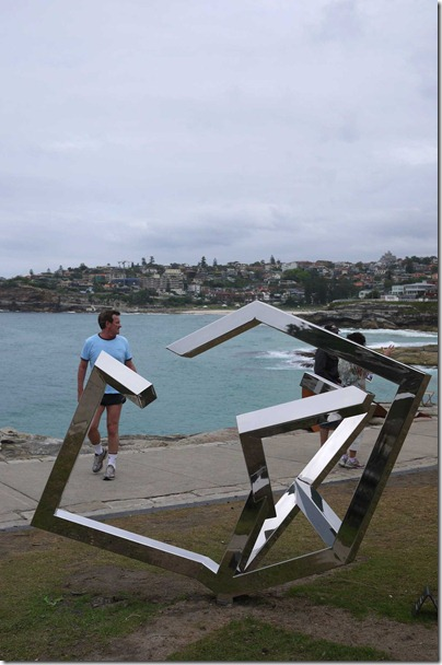 *Sculpture by the sea