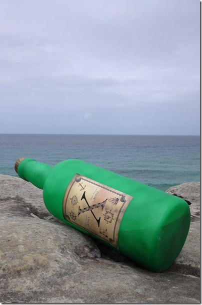 Stephen Thomson & Jonas Allen, Message in a bottle