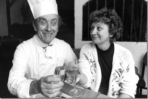 The founders of Claude's, Claude and Nicole Corne at their restaurant Claude's in Woollahra, in 1981 (Photo credit: Sydney Morning Herald)