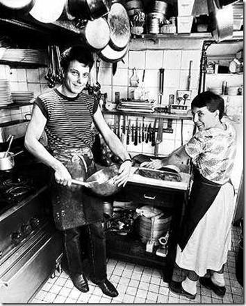 Josephine and Damien Pignolet chefs of Claude's in Sydney Oxford st, Paddington in 1982 (Photo credit: Sydney Morning Herald)