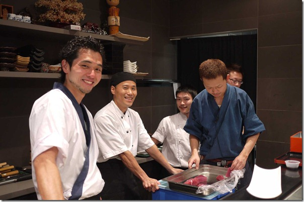 Sharp and sassy: sushi chefs of Hana-JuRin