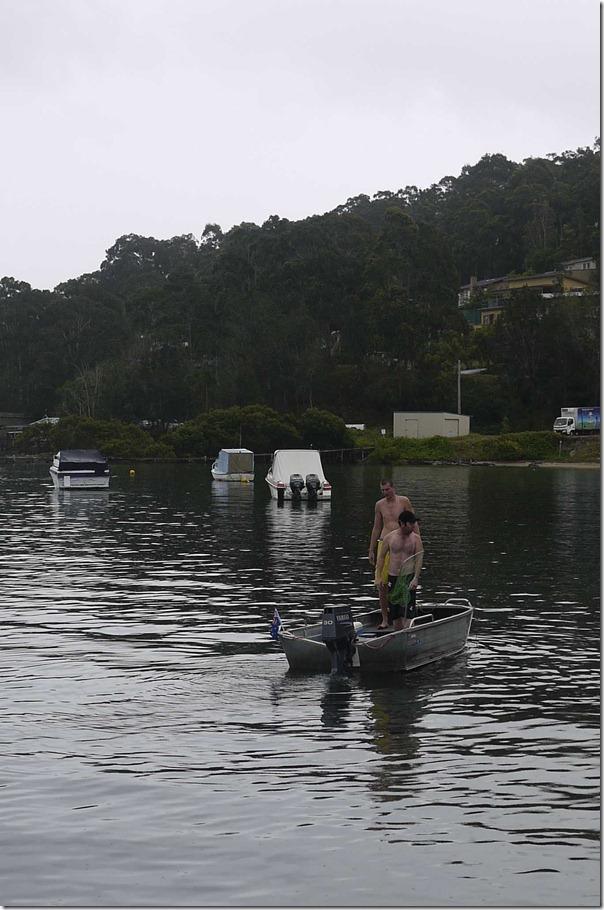 Bonding through fishing