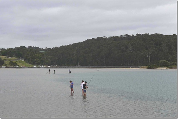 Young anglers at Norooma, South coast