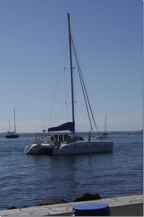 Catamaran at Bateman's Bay