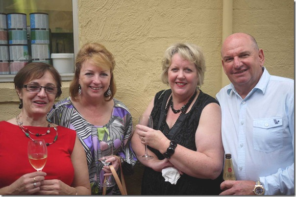Jane McRae, Jacquie Murray, Lynne Robson and David Murray
