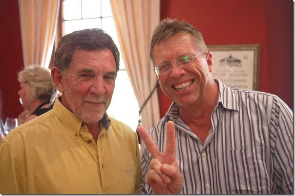 Bruce Pitt and Steve Tracy