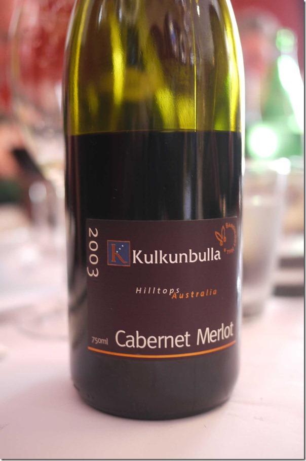 2003 Kulkunbulla Cabernet Merlot