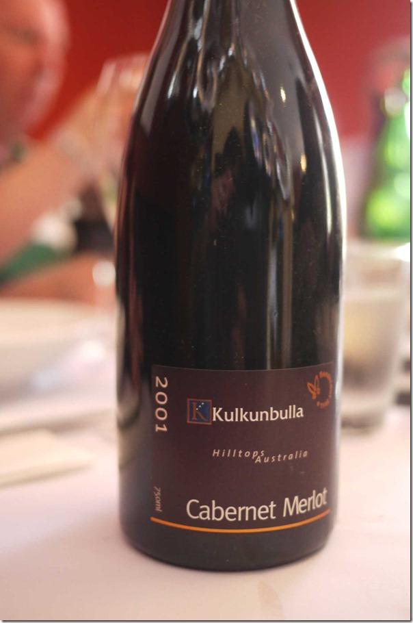 2001 Kulkunbulla Cabernet Merlot