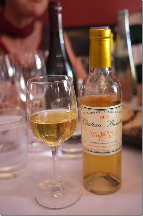 2005 Chateau Broustet Sauternes