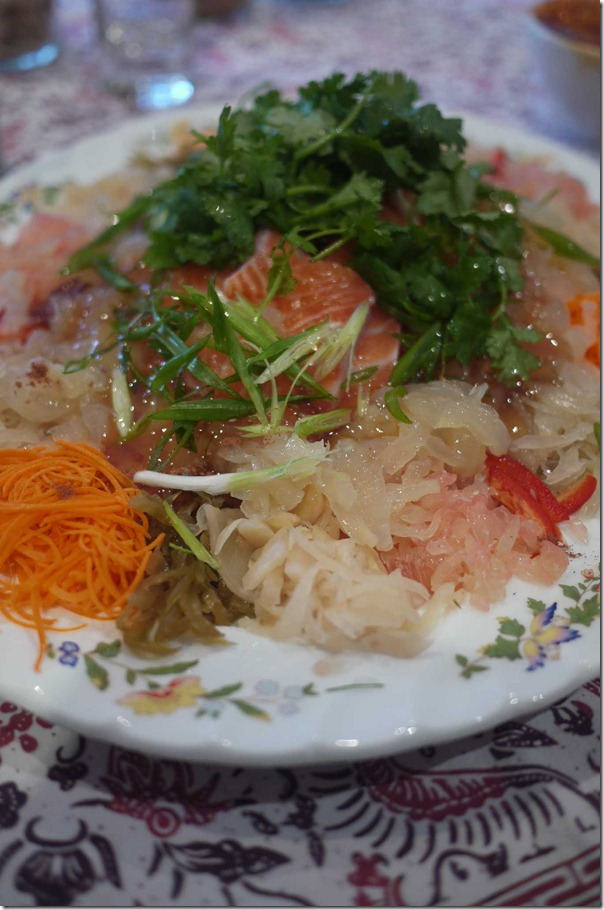 Molly's salmon yee sang