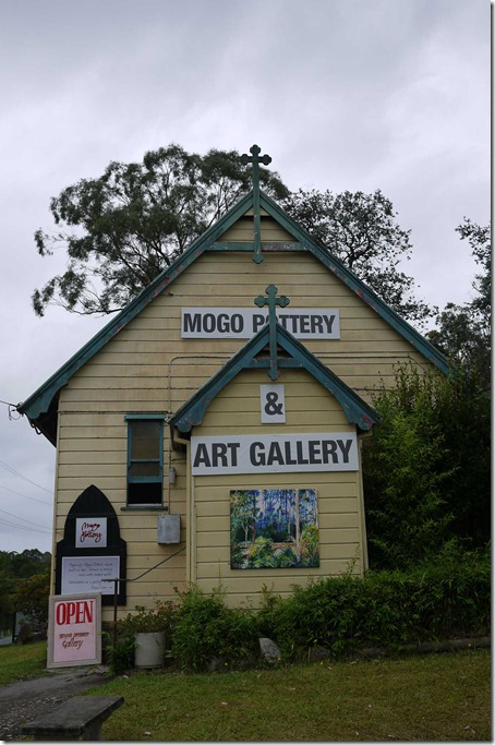 Pottery and art gallery