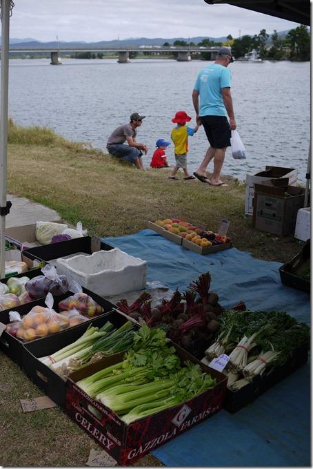 Fresh vegetables, Moruya markets