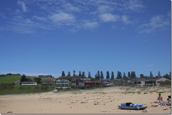 Beach houses, Werri beach, Gerringong, South coast