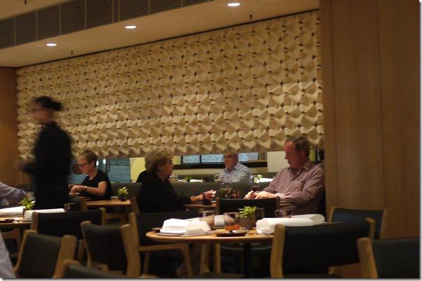 Dining room at The Bridge Room, Sydney