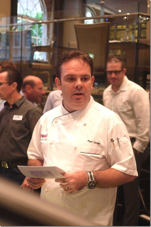 Paul Gruar, Rational Exec Chef