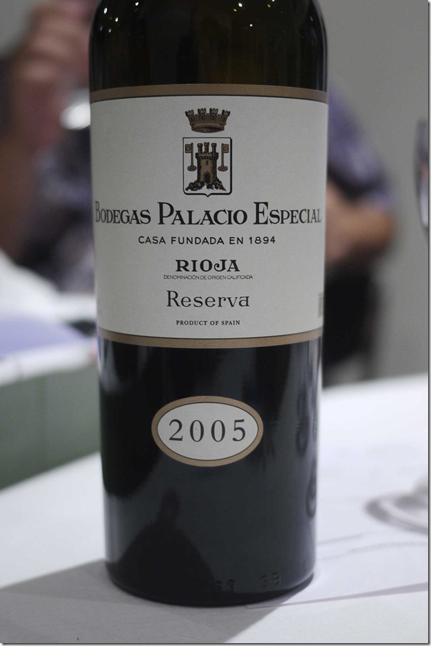 2005 Rioja Bodegas Palacio Especial