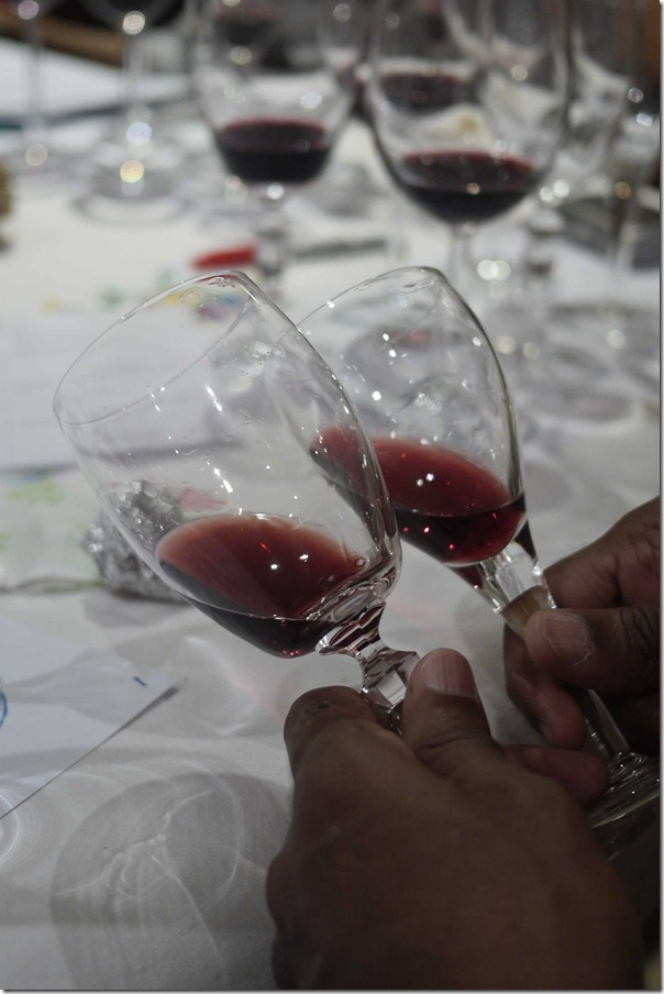 """Compare and contrast - """"What the hell, they all taste the same after the fifth glass!"""""""