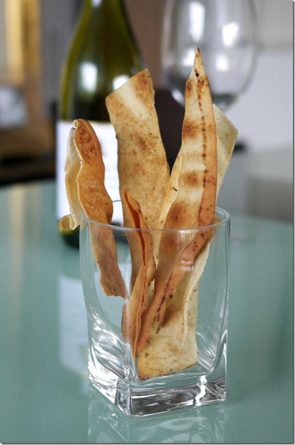 Crispy Lebanese bread sticks