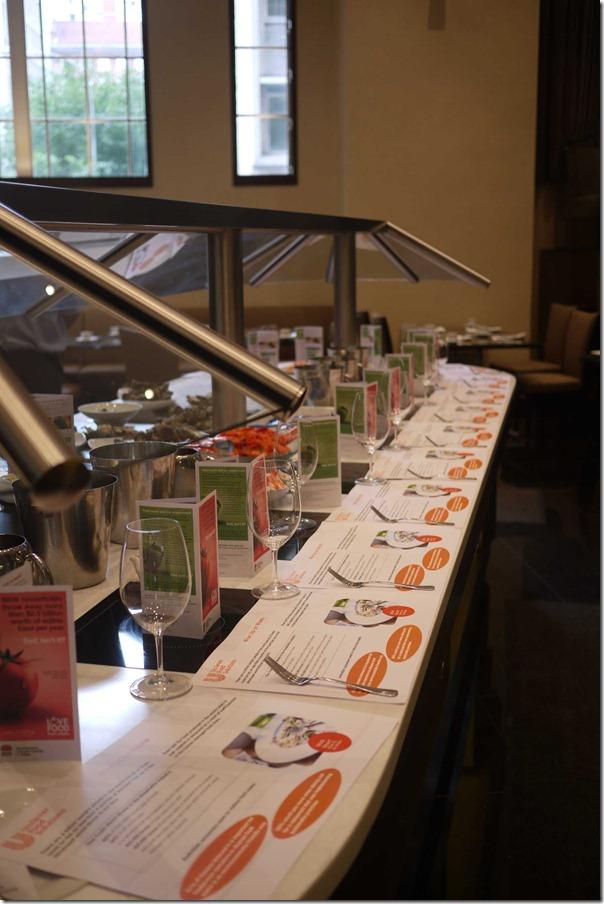 The Executive Chefs Club reception at Radisson Blu Plaza Hotel Sydney