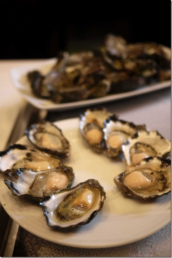 Freshly shucked oysters from Hasting River in NSW's north coast
