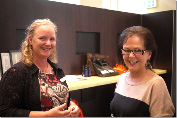 Anne-Marie Poirrier (Environment, Climate Change & Water, NSW) and Debbie Thomson (National Manager, Oppenheimer Pty Ltd)