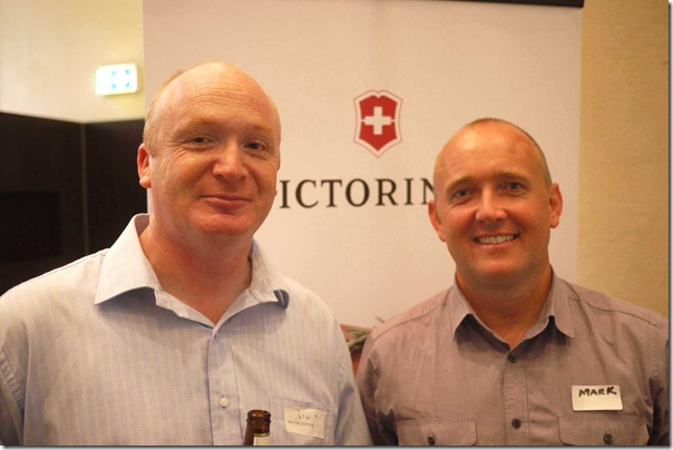 Ricky Dresser (ACF, New South Wales) and Mark Bayliss (Unilever Food Solutions)