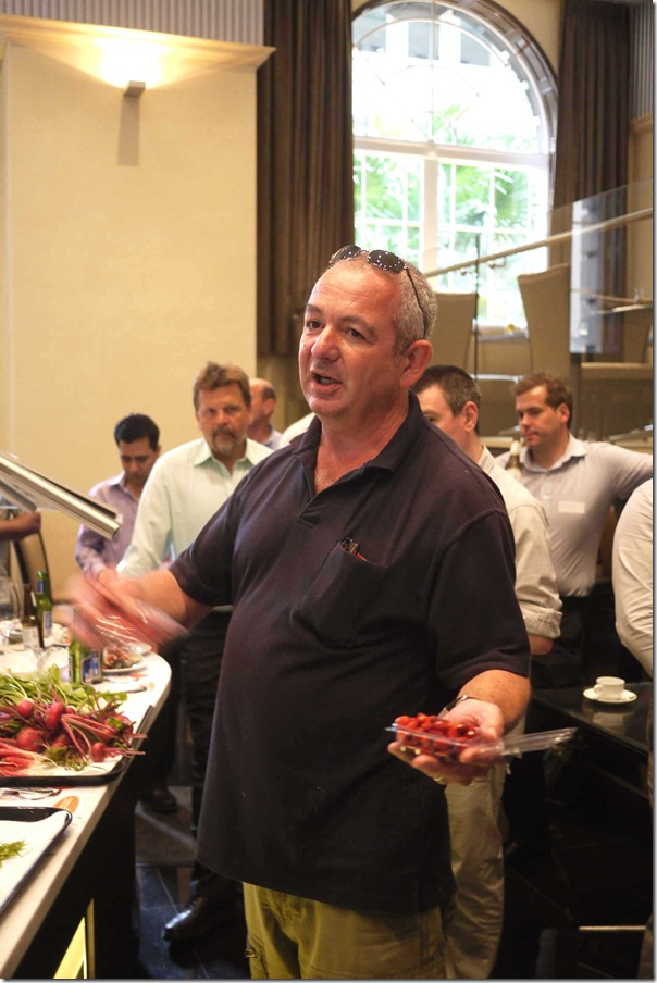 Richard Kalina of Blue Mountains Berries Pty Ltd