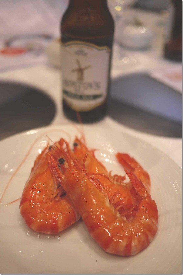 Sweet, succulent and juicy ~ Crystal Bay tiger prawns from the Great Barrier Reef in Queensland