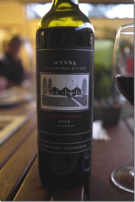 2009 Wynns Coonawarra Cabernet Sauvignon