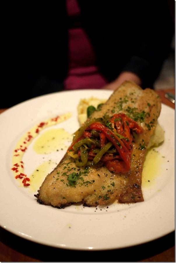 Pesce del Giorno ~ Fish of the day: Pan seared ling fillets