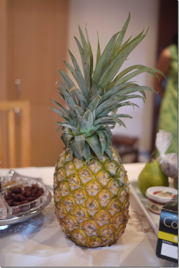"Pineapple or ""ang lai"" to usher in prosperity"
