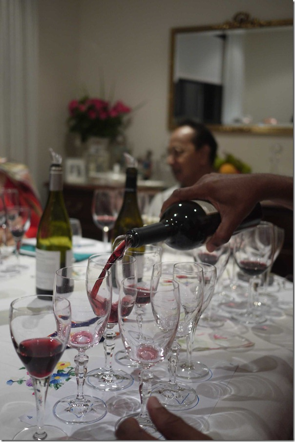 Tough task: Tasting each wine by the glass