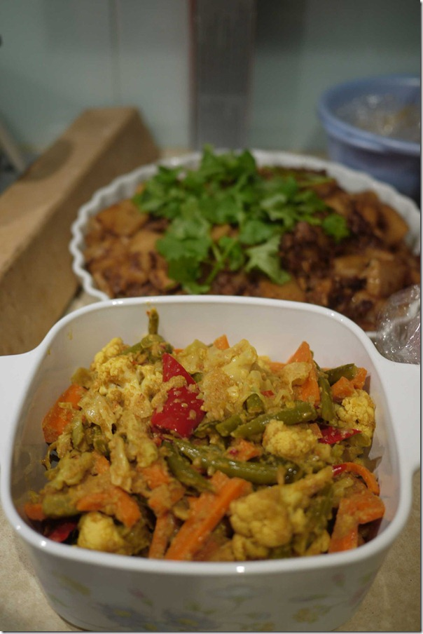"""Malaysian style """"achar"""" or pickled vegetables"""