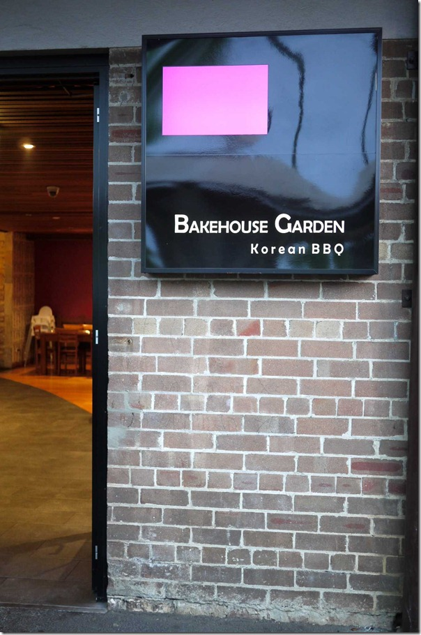 Bakehouse Garden Korean BBQ
