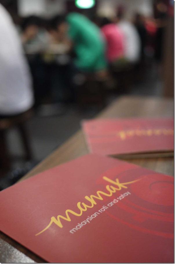 Mamak menu