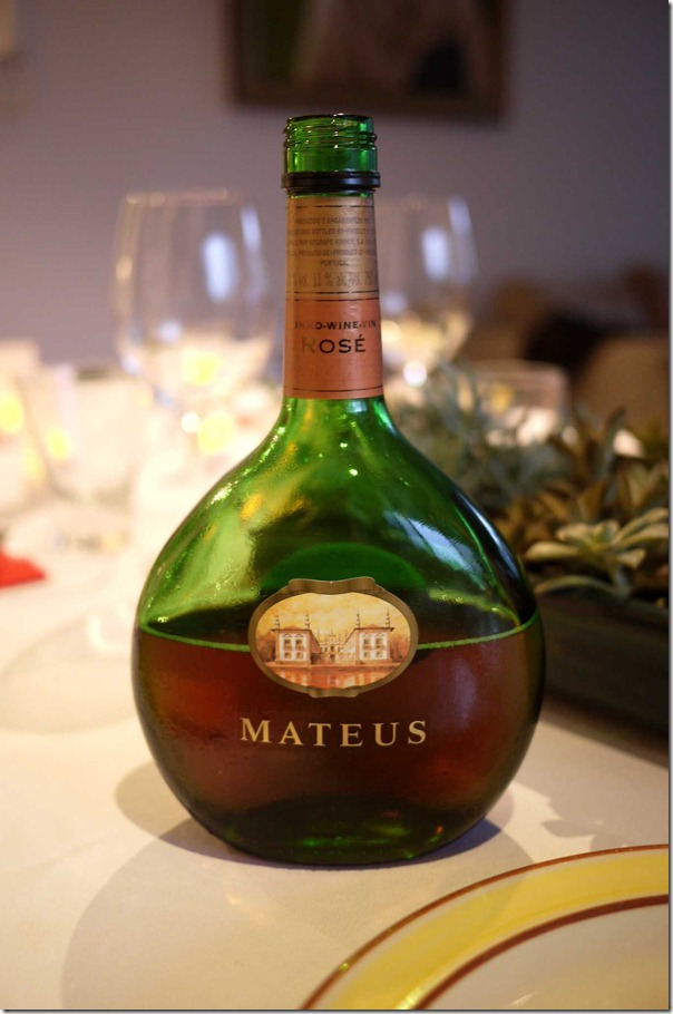 Blast from the past: Mateus Rose from Portugal