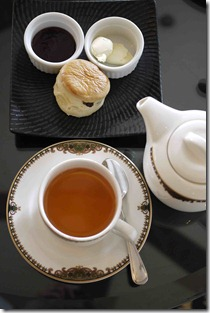 Tea and scones, Cameron Highlands Resort