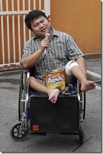 Street beggar in Kuala Lumpur