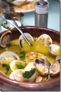 Ameijoas 'a Portugalia clams