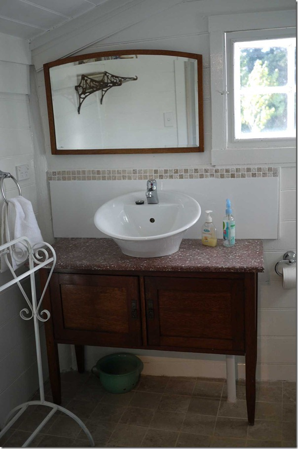 Bathroom at Hatch cottage